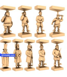 "Chess set ""Rusichi"" 