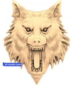 Wolf head (9)