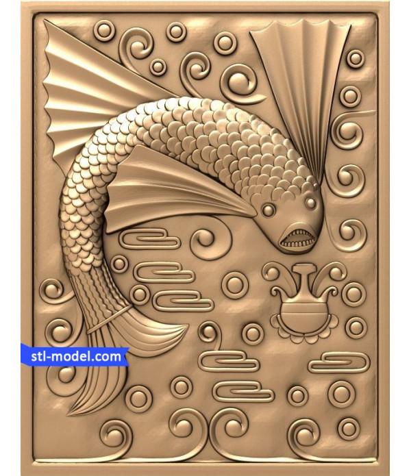 "Bas-relief ""fairy Tale #6"" | STL - 3D model for CNC"