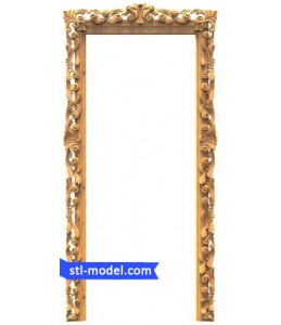 "Furniture ""Door trim #1"" | STL..."