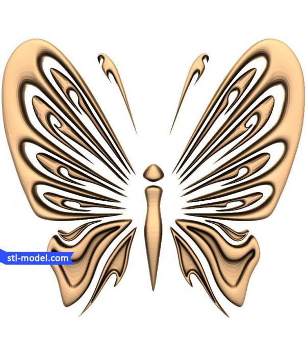 "Decor ""decor #155"" | STL - 3D model for CNC"