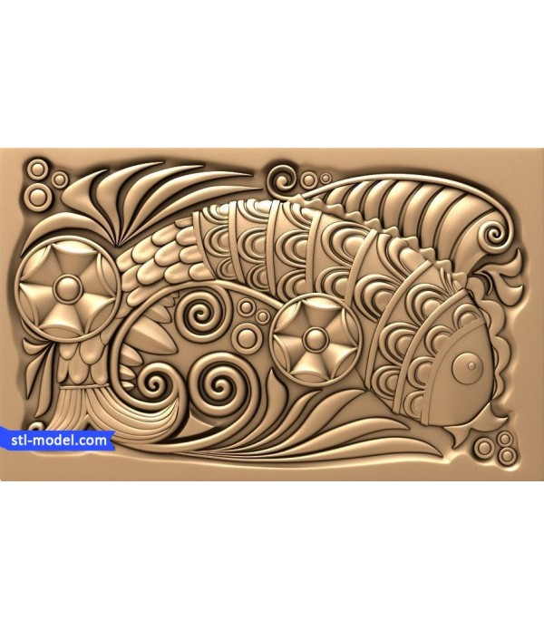 "Bas-relief ""fairy Tale #5"" 