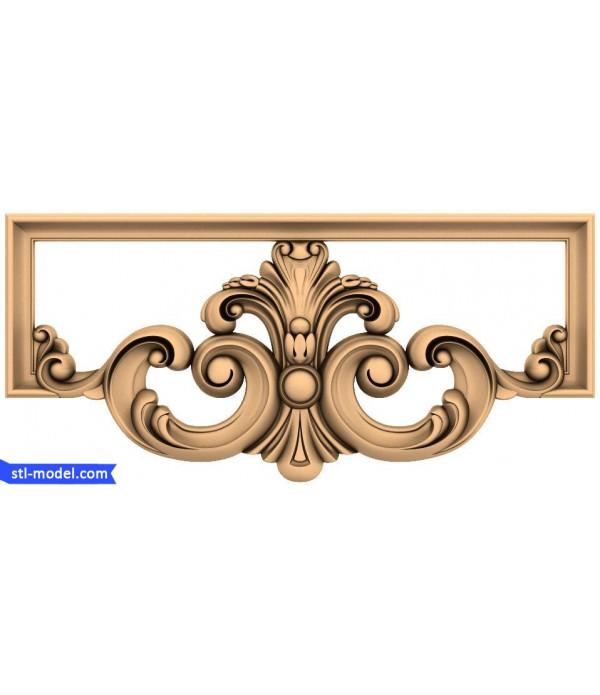 "Central decor ""Central decor #2"" | STL - 3D model for CNC"
