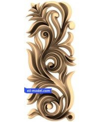 "Decor ""decor #1255"" | STL - 3D model for CNC"