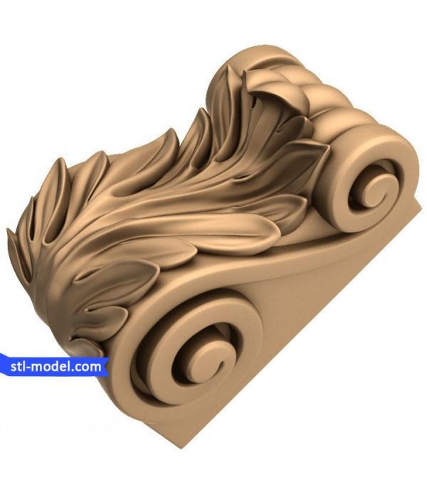 "Corbel ""Corbel #85"" | STL - 3D model for CNC"
