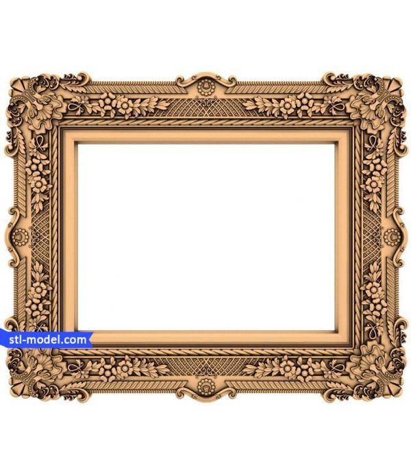 "Frame ""Frame #2"" | STL - 3D model for CNC"