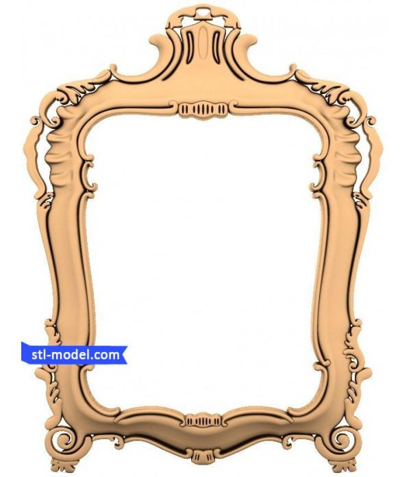 "Frame ""Frame #144"" | STL - 3D model for CNC"
