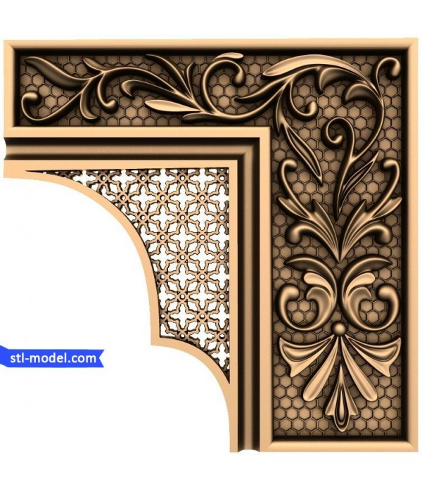 "Decor ""decor #37"" | STL - 3D model for CNC"