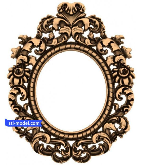 "Frame ""Frame #111"" | STL - 3D model for CNC"