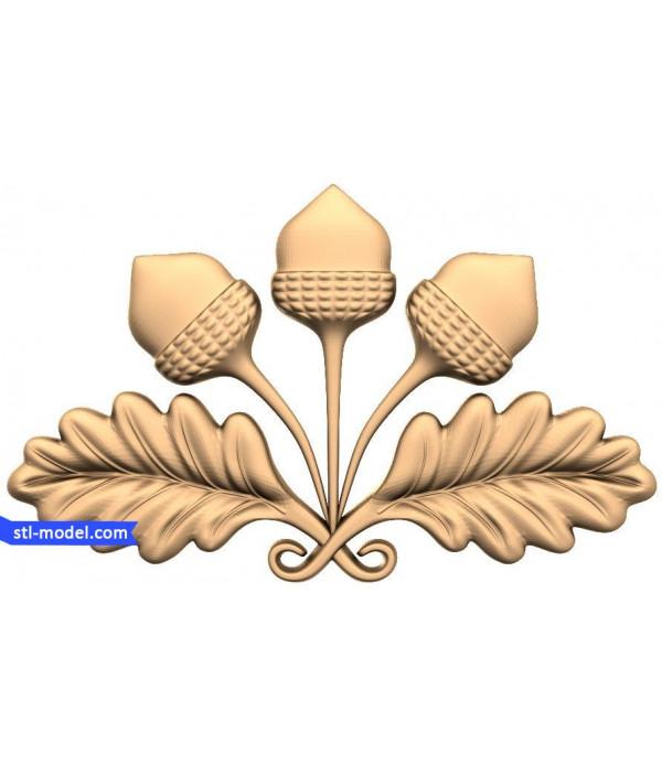 "Decor ""decor #179"" | STL - 3D model for CNC"