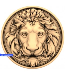 """Character """"a lion's Head (15)""""..."""