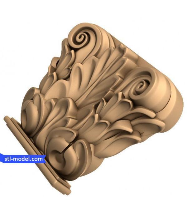 "Corbel ""Corbel #36""   STL - 3D model for CNC"
