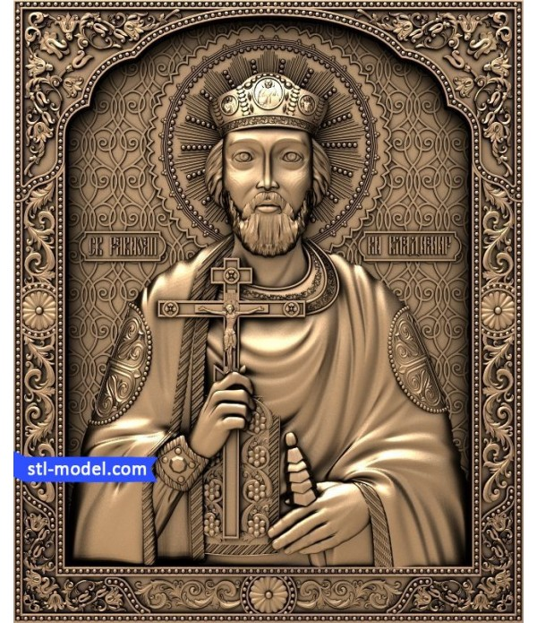 "Icon ""St. Vladimir #3"" 