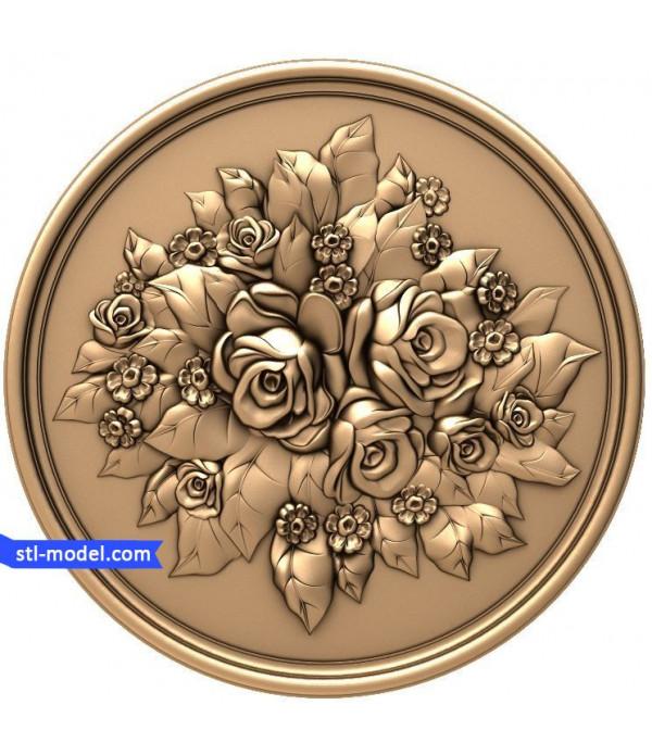 "Flowers ""Flowers #18"" | STL - 3D model for CNC"