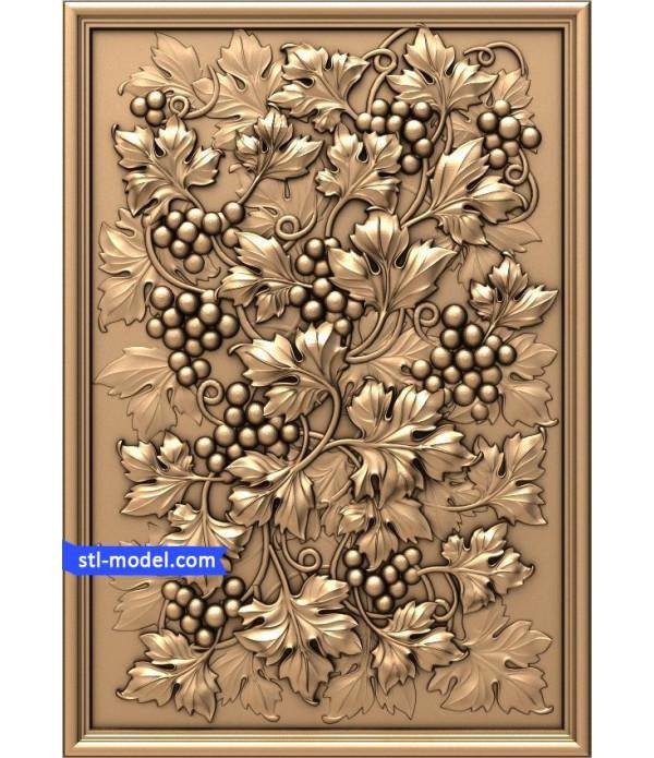 "Flowers ""Flowers #17"" | STL - 3D model for CNC"