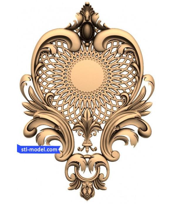 "Decor ""decor #10"" | STL - 3D model for CNC"
