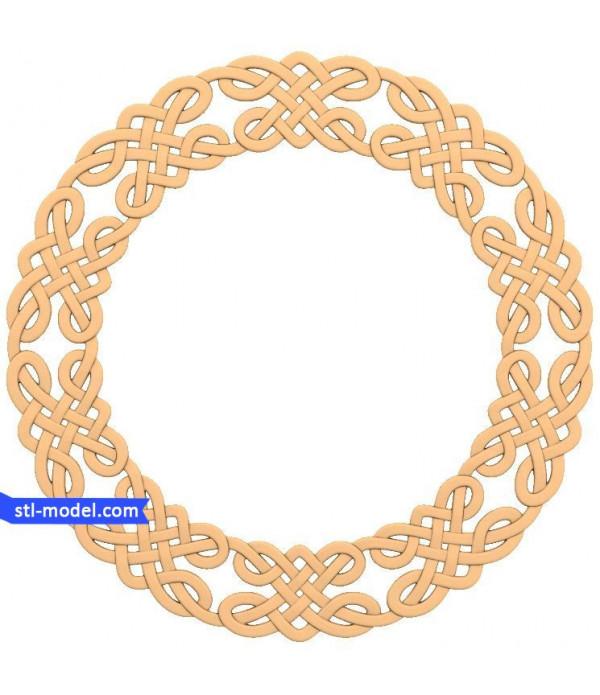 "Frame ""Frame #26"" | STL - 3D model for CNC"