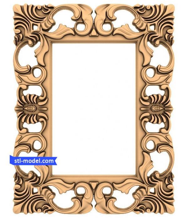 "Frame ""Frame #97"" | STL - 3D model for CNC"