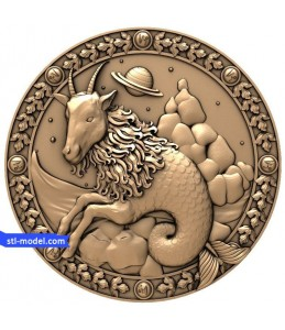 "Zodiac ""Capricorn"" | STL - 3D ..."