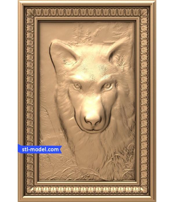"Bas-relief ""Dog"" | STL - 3D model for CNC machine"