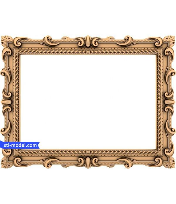"Frame ""Frame #5"" | STL - 3D model for CNC"