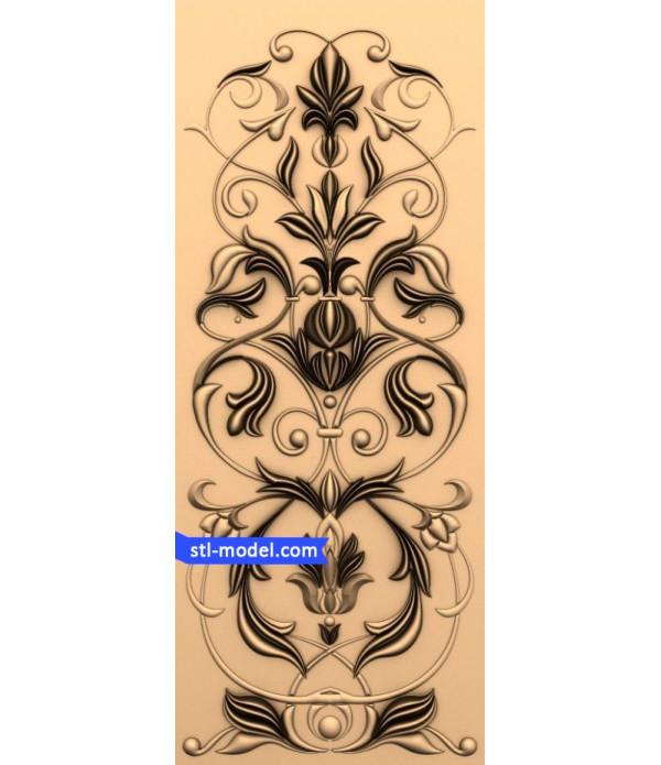 "Decor ""decor #200"" | STL - 3D model for CNC"