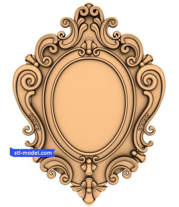 "Frame ""Frame #79"" | STL - 3D model for CNC"
