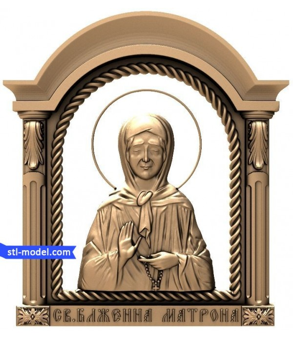 "Icon ""St. Matrona #1"" 