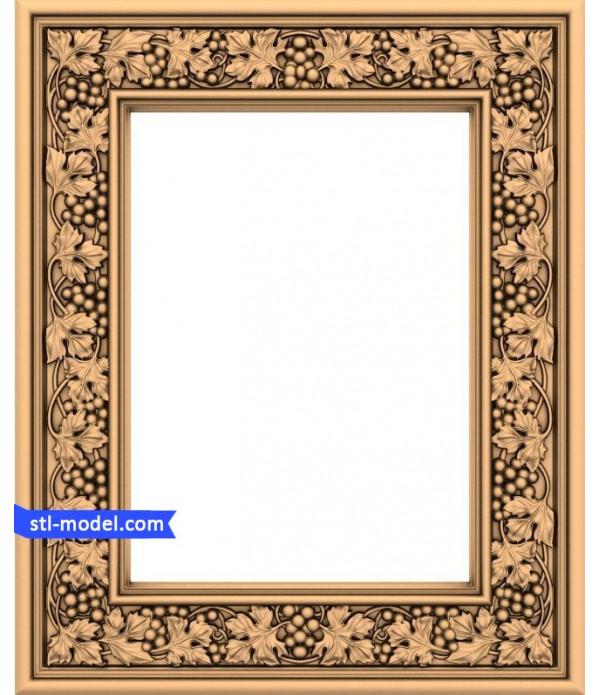 "Frame ""Frame #84"" | STL - 3D model for CNC"