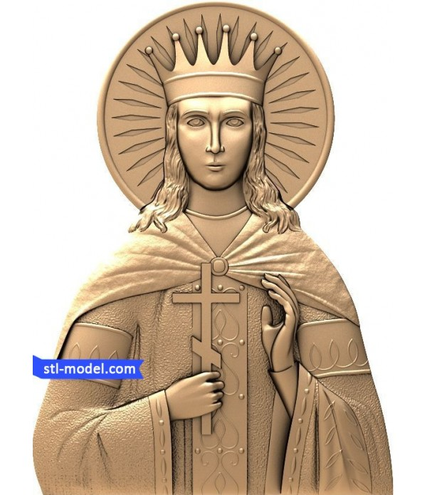 "Icon ""Saint Catherine"" 