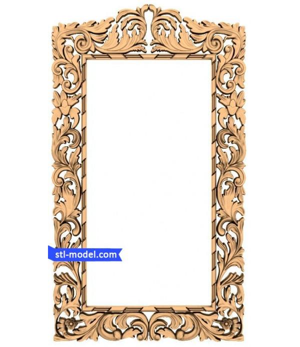 "Frame ""Frame #139"" | STL - 3D model for CNC"