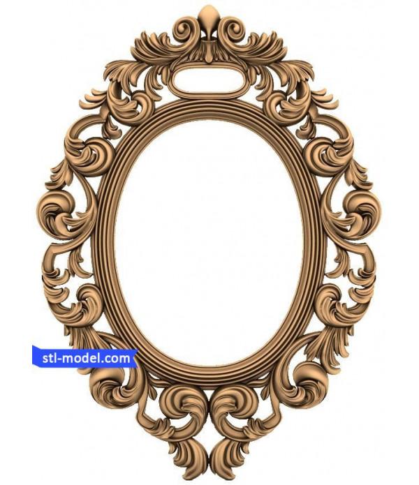 "Frame ""Frame #153"" | STL - 3D model for CNC"